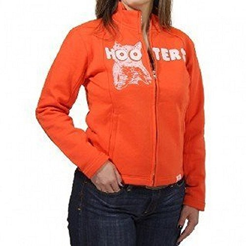 hooters-licensed-orange-full-zipper-jacket-small