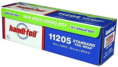 HFA 11205 Handi-Foil 12″ x 1000 Ft Roll Foil – 1 / RL
