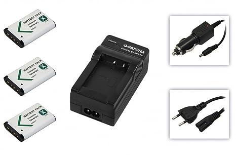 Batería & cargador wie Sony NP-BX1 para Sony Handycam: HDR ...