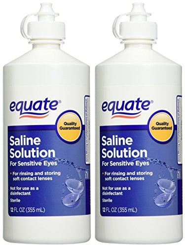 how to make saline solution for contact lenses