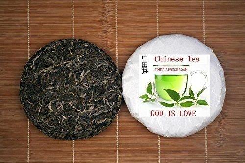 Pu erh black tea, top grade unfermented puer tea 600 grams tea cake by JOHNLEEMUSHROOM RESELLER