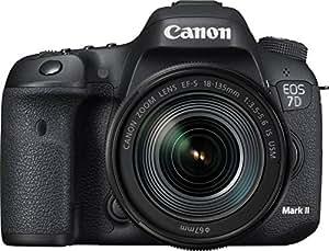Canon EOS 7D Mark II with EF-S 18-135mm f 3.5-5.6 IS USM and Wi-Fi Adapter W-E1 Digital Camera - SLR(7DIISK2) 3Inch Display,Black (Australian warranty)