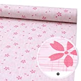 Self Adhesive Shelf Liner Decorative Contact Paper Floral Peel and Stick Wallpaper for Kitchen Cabinets Drawers Shelves Countertops Windows Walls Crafts 17.7'' x 393''