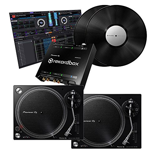 Pioneer PLX-500 Turntables w/rekordbox INTERFACE2 DVS