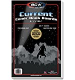 BCW Supplies - Current Size Comic Boards - White - BBCUR - (100 Boards)