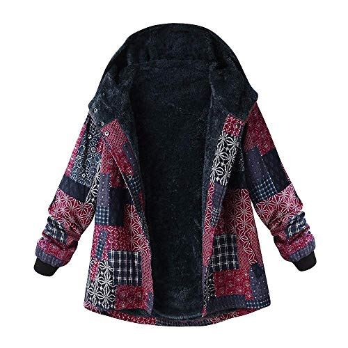 Poche Coat Vintage Manteau Coton Rose Cardigan Oversize À Longues En Manches Femmes Toison Femme Trench Avec D'hiver Zhrui Les Parka Veste Décontractée En Toison Pour AvgwdqExq