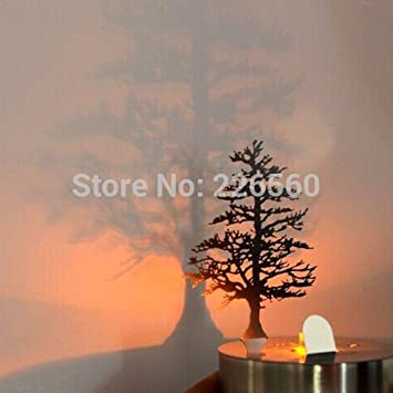 1bc8c97694575 Image Unavailable. Image not available for. Color  1Piece Creative Lumen  Oil Candle Shadow Projectors ...