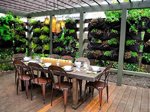 12 Pocket Garden Outdoor Vertical Living Wall Planter by Green-Planter (Image #3)