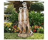 Outdoor Statue Meerkat Gang Garden Animals Sculpture Yard Exotic Decor --P#EWT43 65234R3FA170680