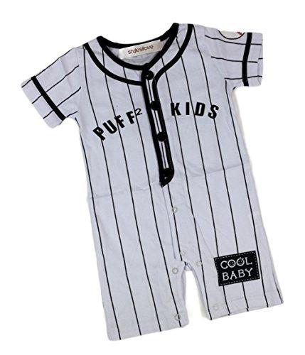 Baseball Costume 12 Months (StylesILove Baby Boy Sports Baseball Costume Jumpsuit (80/6-12 Months))