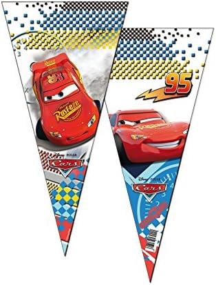 Verbetena, 014000991, pack 6 bolsas conos disney cars, bolsas ...