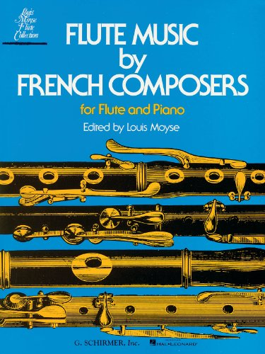 Flute Music French Composers - Flute Music by French Composers - Flute and Piano - Book