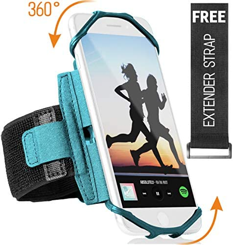 Rotatable Samsung Running Extender Turquoise product image