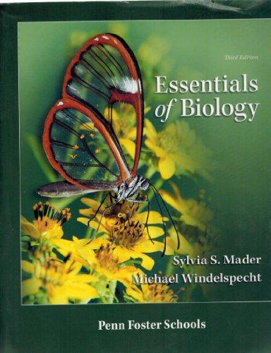 Essentials Of Biology   Custom Edition