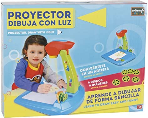 COLEPROFE Proyector Azul Dibuja con Luz: Amazon.es: Juguetes y juegos