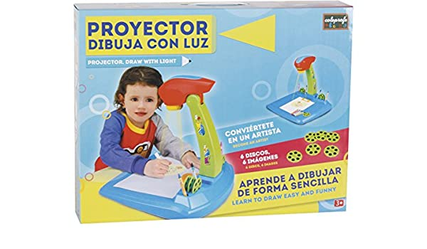 COLEPROFE Proyector Azul Dibuja con Luz: Amazon.es: Juguetes ...