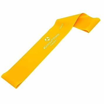 Cinta elástica »Hector« / Cinta elástica loop para realizar ejercicio, rehabilitación y fisioterapia / naranja / suave: Amazon.es: Deportes y aire libre