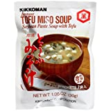 Kikkoman Instant Miso Soybean Paste Soup with Tofu, 30g