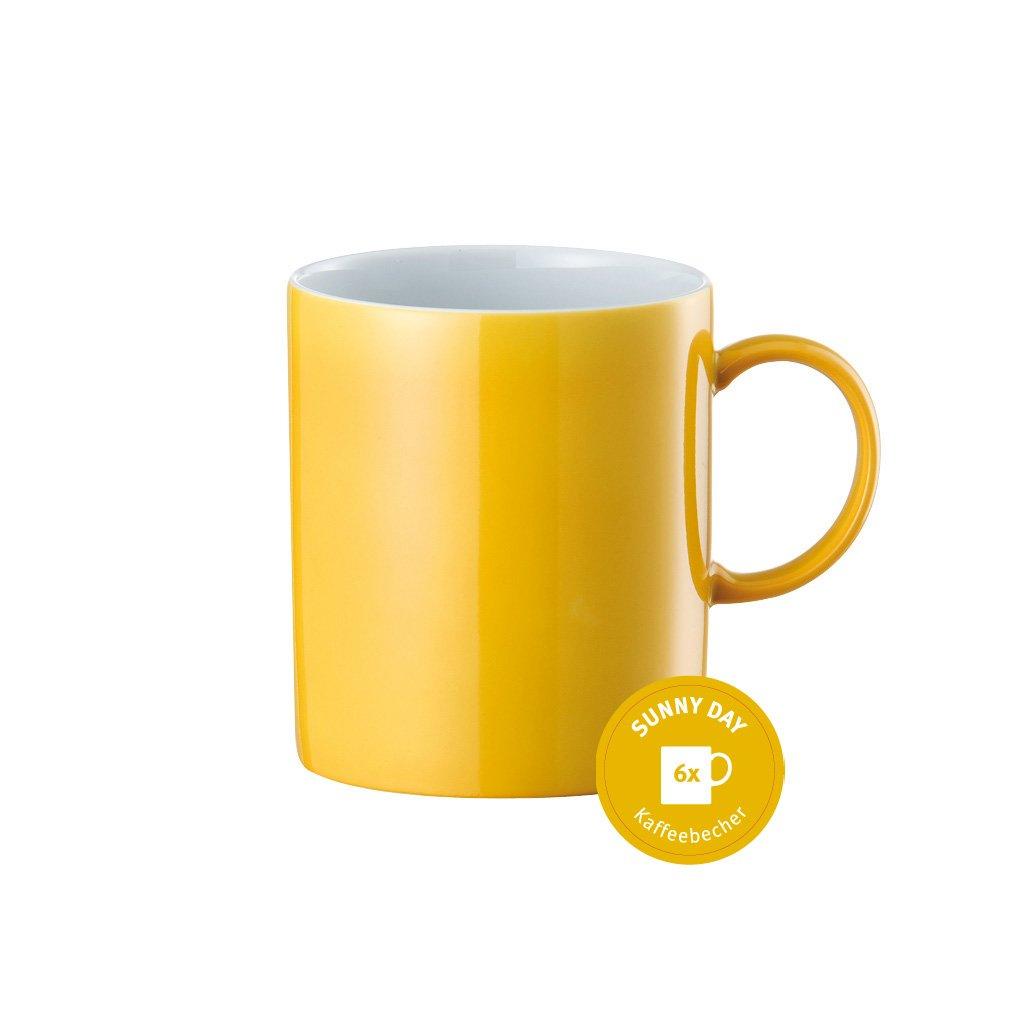 Giallo Thomas Sunny Day 10850-408502-29217 Set 6 Bicchieri con Manico Colore