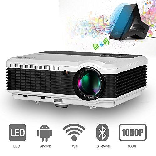 EUG 3900 lumens Android Bluetooth HD 1080p...