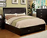 Best 247SHOPATHOME Bed Frames - 247SHOPATHOME Idf-7066EX-Q Platform-Beds, Queen, Espresso Review