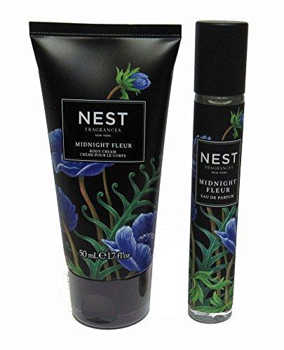 Nest body Cream and Eau De Parfum Layering Set (Midnight Fleur)