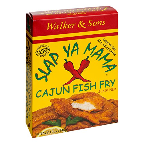 Slap Ya Mama Cajun Fish Fry, 12-Ounce Boxes (Pack of 6) by SLAP YA MAMA (Image #1)