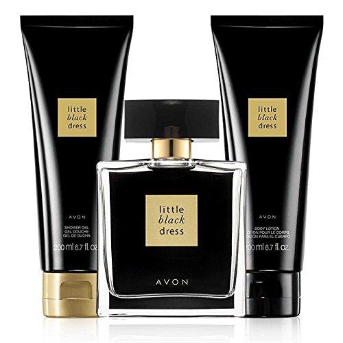 (Avon Little Black Dress Perfume for Her 3 piece Gift set for)