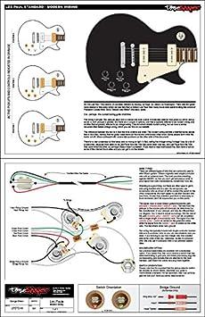 ToneShaper juego de cableado para Les Paul Standard (cableado moderno): Amazon.es: Instrumentos musicales