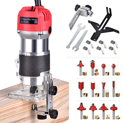 Electric Hand Trimmer Wood