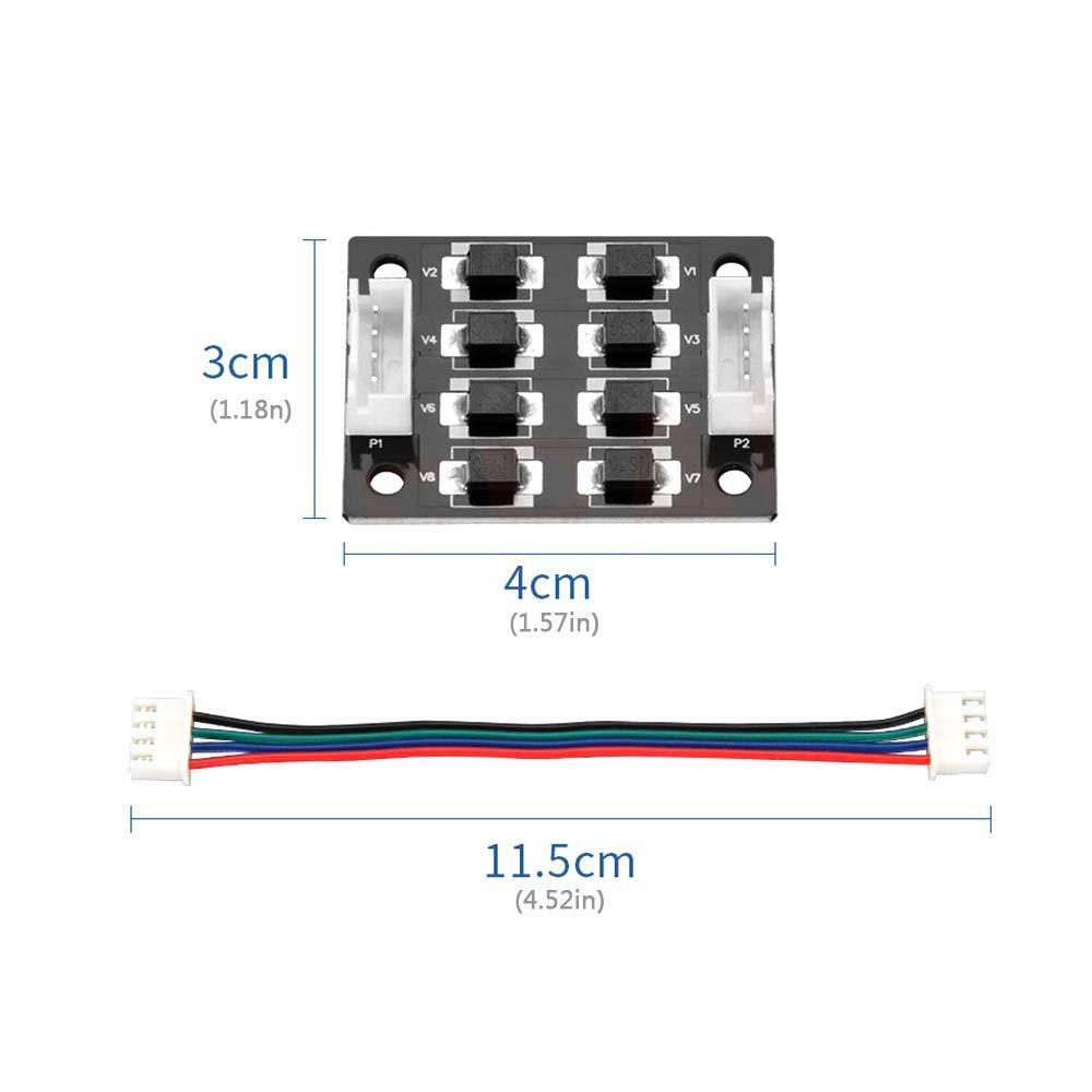 4 x 3 cm LayOPO TL-Smoother Kit Lot de 5 Accessoires de Pilote de Moteur pour imprimante 3D A4988 pour /éliminer Les Lignes dimpression