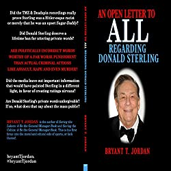 An Open Letter to All Regarding Donald Sterling