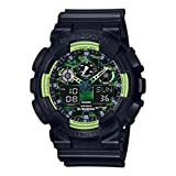 G-Shock GA100LY-1A Sporty Illumi Series Watches - Black / 1 Size