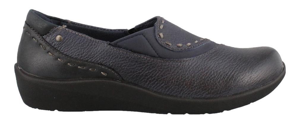 EARTH ORIGINS Womens Leather Loafers B0757ZS9VJ 8 C/D US|Blue-multi Blue-multi 8 C/D US