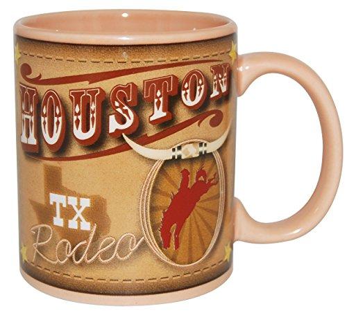 Houston Mug - Houston Texas Rodeo Themed 11 Ounce Coffee Mug