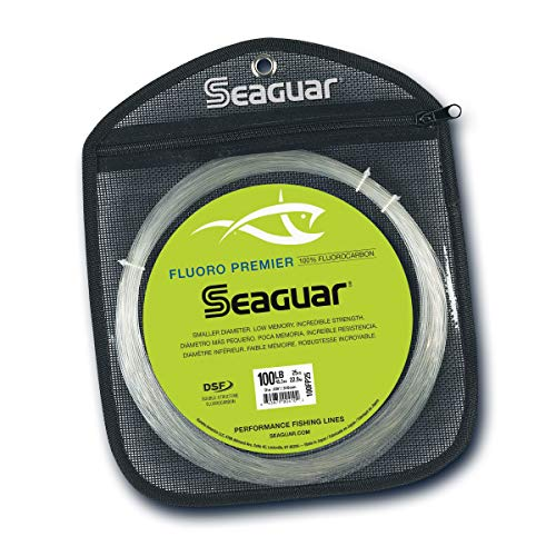 Seaguar Fluoro Premier 25-Yards Fluorocarbon Leader (100-Pounds)