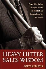 Heavy Hitter Sales Wisdom Hardcover