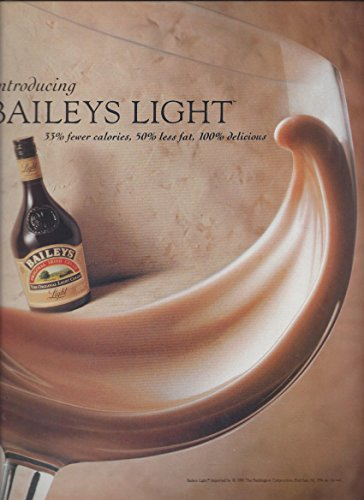 MAGAZINE ADVERTISEMENT For 1983 Baileys Irish Cream Light: Introduction