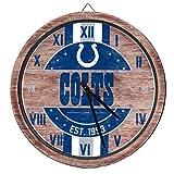 FOCO Indianapolis Colts NFL Barrel Wall Clock