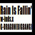 Rain Is Fallin'/HYBRID DREAM(通常盤)の商品画像