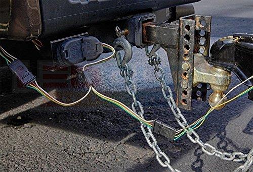 4 Wire Pin Plug Flat Y