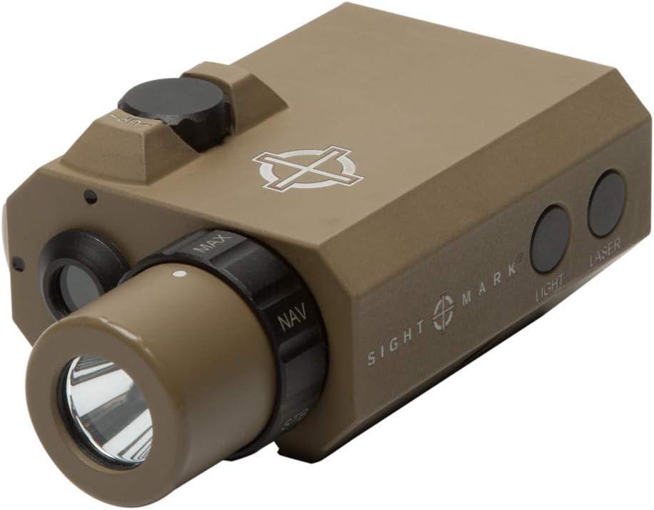 Sightmark LoPro Mini Combo Flashlight and Green Laser Sight, Dark Earth