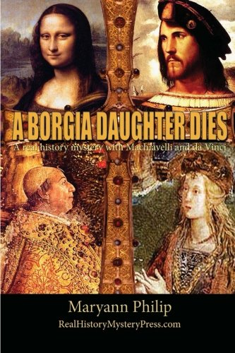 Book cover for A Borgia Daughter Dies