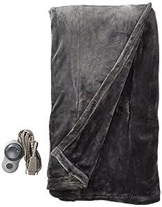 Sunbeam Velvet Heated Blanket, Full, Garnet, BSV9MFS-R310-12A00