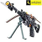 Zest 4 Toyz Combat Gun With Stylish Military Look - Multi Color