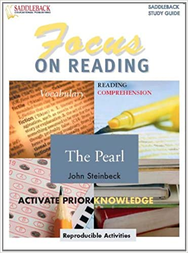 Amazon The Pearl Focus On Reading Study Guide Enhanced Ebook