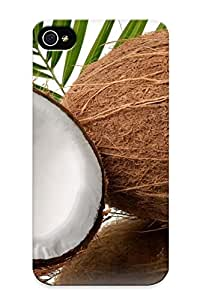 Hot New Coconut Case Cover For Iphone 4/4s With Perfect Design