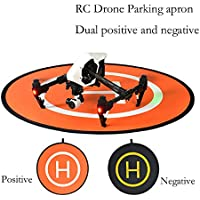 Drone Fans Parking Apron Portable Foldable Retractable Multicopter Drone Landing Pad Field Air Base for DJI Phantom 2 3 4 Inspire 1