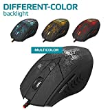 NSInew DEFENDER Backlit Wired Gaming Mouse – PC