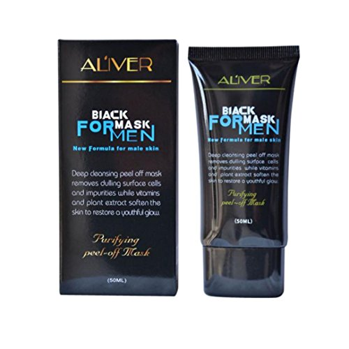 Blackhead Removel Mask, TONSEE Men Black Mud Deep Cleansing